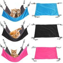 Кровать гамак для кошек удобная подвесная койка клетки маленьких