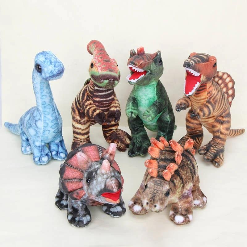 Tyrannosaurus Plush Toy Triceratops Stuffed Animal Toy Dinosaur Soft Pillow
