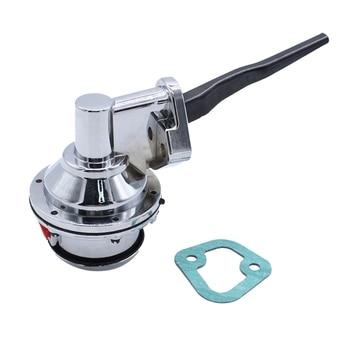 for Big Block Ford FE Chrome High Volume Mechanical Fuel Pump 352 360 390 427 428