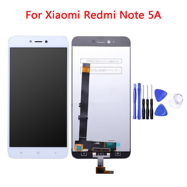 For Xiaomi Redmi Note 5A LCD Display+Touch Screen Digitizer Assembly Tools Replacement