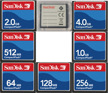 Sandisk Compact Flash CF Card 32MB 64MB 128MB 256MB 512MB 1GB 2GB CF Memory Card For CNC IPC Numerical Control Machine Used