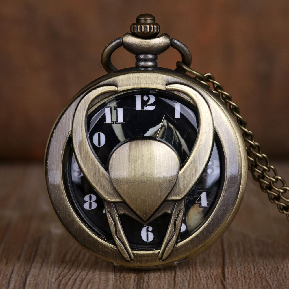 New Fashion Pocket Watches Skeleton Carving Pendant Chain Hollow Quartz Pocket Watches Hot Cool Gifts For Men Women
