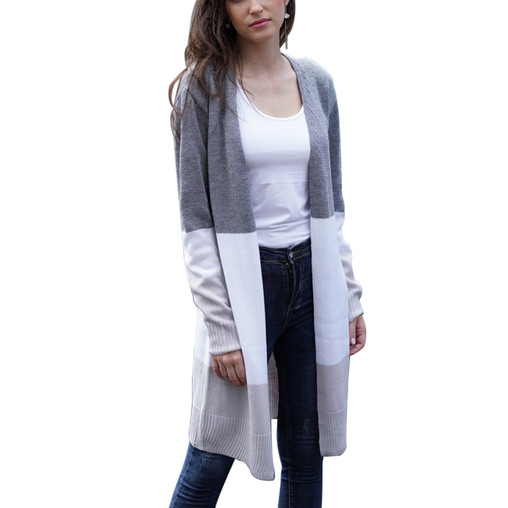 Knitted Sweaters Cardigans Streetwear-Coat Thin Female Women Autumn Plus-Size 2XL Long