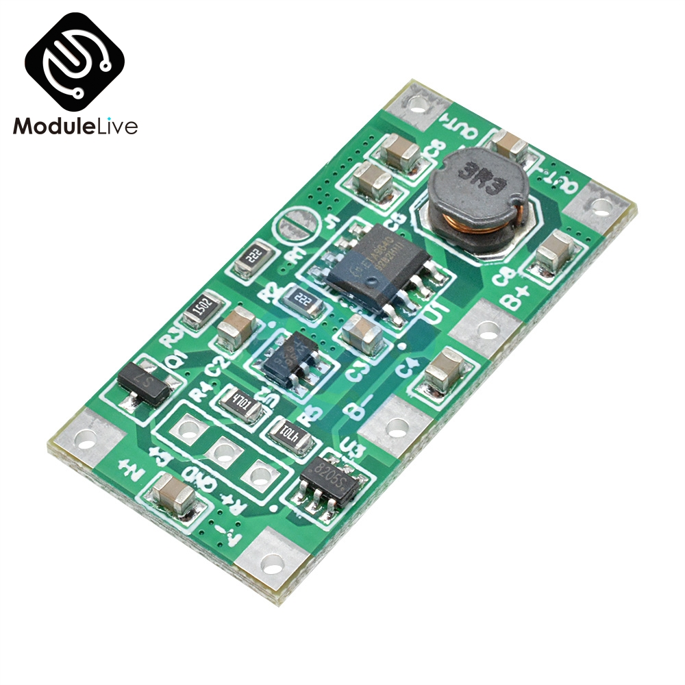 5V 1A UPS Uninterrupted Power Supply Module 18650 Lithium Battery Step Up Reverse Overvoltage Protection Boost Charging Tools
