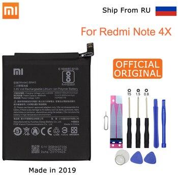 Xiao mi 원래 교체 전화 배터리 xiao mi red mi note 4x/note 4 글로벌 snapdragon 625 4000 mah bn43 전화 배터리