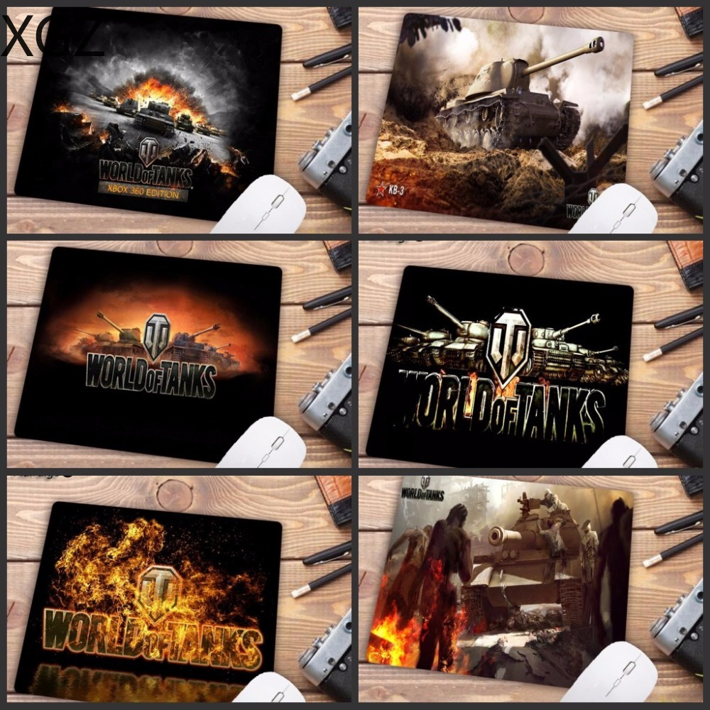 XGZ Big Promotion Laptop Mouse Pad  The World Of Tanks Style Design Large Gaming PC Anti-slip  Mat Size 180X220X2MM