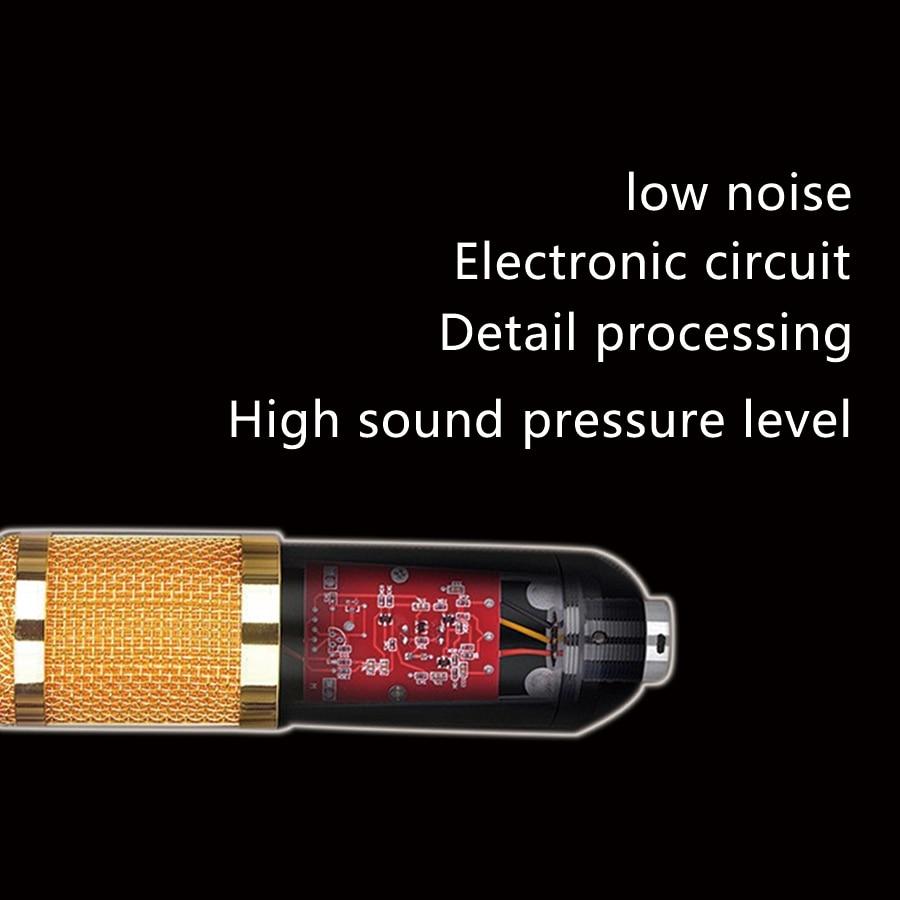 Bm 800 Condenser Microphone Studio Kit