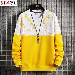 SFABL Printed Pullover Hoodies Men 2020 New Casual Streetwear Sweatshirts Men Hip Hop Harajuku Hoodie Male Tops Fashion Trend