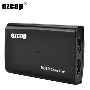 Image 1 - Tarjeta de captura de vídeo HDMI de 1080P y 60fps, grabadora de Audio con micrófono USB 3,0 para PS4, Xbox, Vmix, OBS, Youtube, placa de transmisión en vivo, bucle 4K