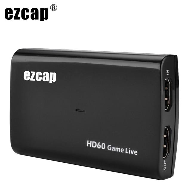 Tarjeta de captura de vídeo HDMI de 1080P y 60fps, grabadora de Audio con micrófono USB 3,0 para PS4, Xbox, Vmix, OBS, Youtube, placa de transmisión en vivo, bucle 4K