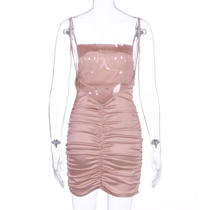 mini satin dress03