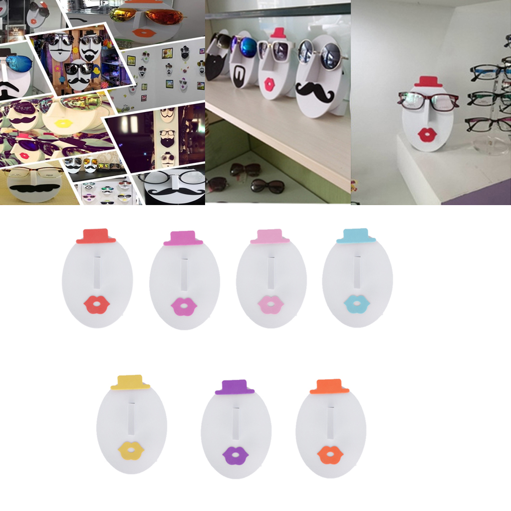 Female Face Glasses Sunglasses Spectacle Display Stand Holder Rack