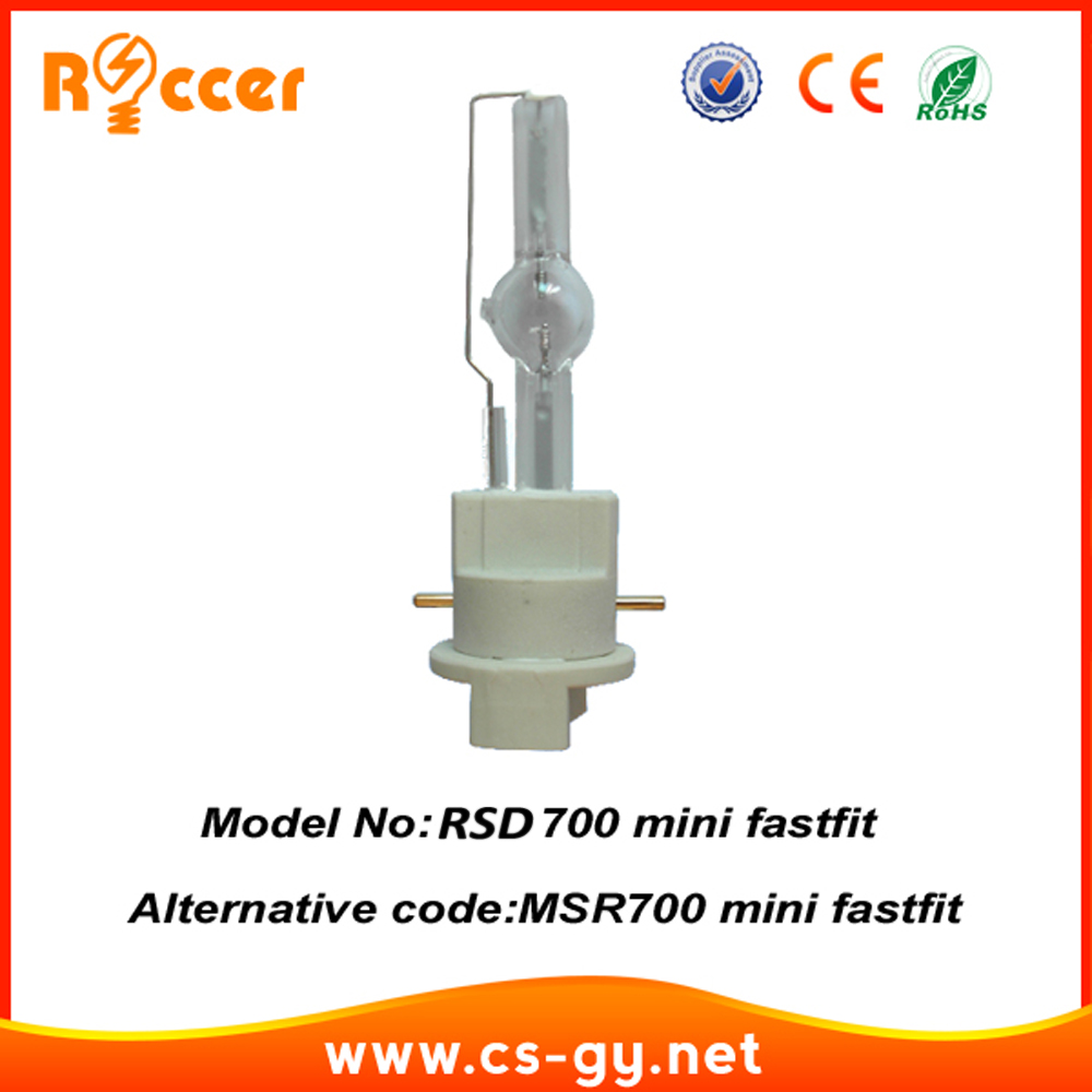 ROCCER FAST FIT 700W LAMP Bulb For Moving Head Lights Beam 700  PGJX28 MSD700W Beam Mounted Gas Discharge Lamp