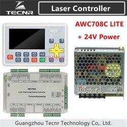 Trocen anyويلز AWC708C لايت Co2 ليزر نظام تحكم + ميانويل 24 فولت 3.2A 75 واط تحويل التيار الكهربائي