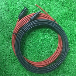 1 пара Панели солнечные фотоэлектрический кабель Медный провод черный и красный цвета с MC4 разъем кабель солнечной батареи 6/4/2,5 мм