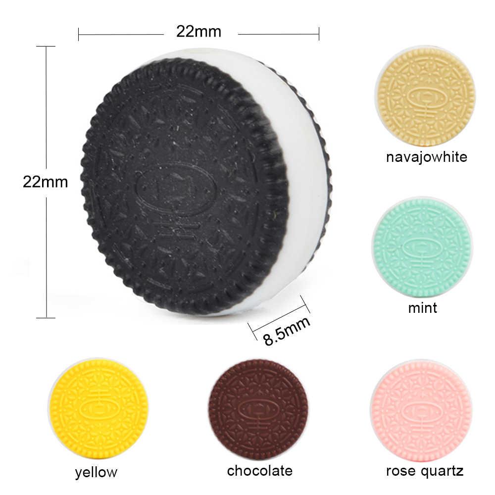 Lofca Manik Silikon 5 Pcs/lot Mini Hewan Manik-manik Tumbuh Gigi Perhiasan Bayi Teether Dot Klip Pearl Manik-manik Makanan Dental Care