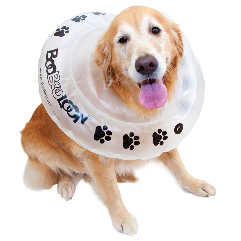 PVC Inflatable Pet Collar Dogs And Cats Anti Grasping Lick Wound Swimming Tube Pet Medical Care Circle