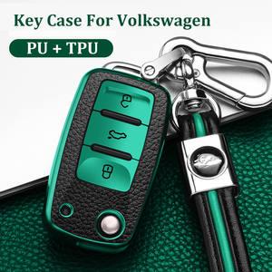 Cover-Shell Remote-Fob-Holder Polo Car-Key-Cover Bora VW Passat B5 Volkswagen Jetta Golf 4