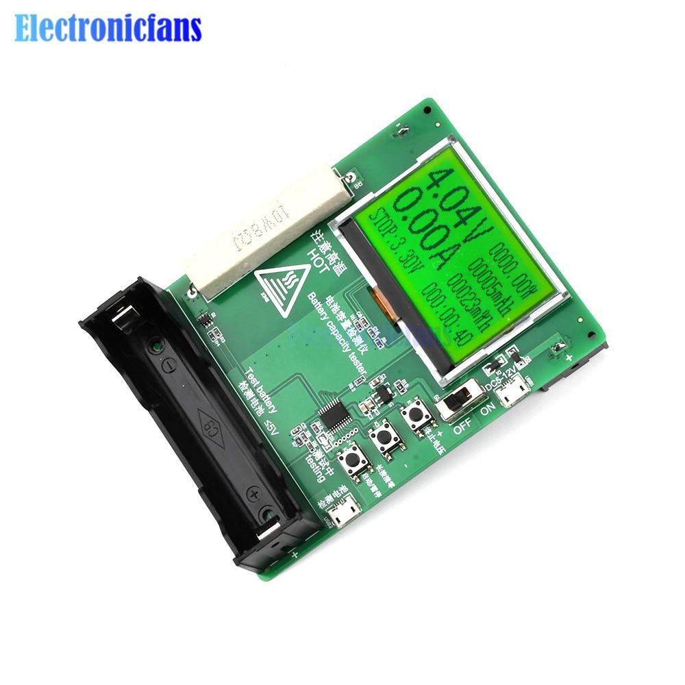 Testeur de batterie Lithium-ion avec écran LCD numérique DC 5-12V 18650, compteur de tension, capacité, moniteur, Module de test