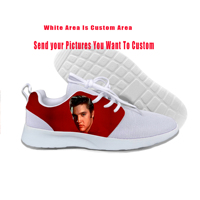 2019 Hot Cool Fashion High Quality Funny Sneakers Handiness Casual Shoes 3D Printed For Men Women Pop Rock Elvis Aaron Presley