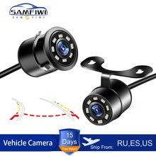 Dynamic Trajectory Tracks IR Night Vision Car Rear View Camera 140 Wide Angle Reverse Parking Camera CCD LED Auto Backup Monitor
