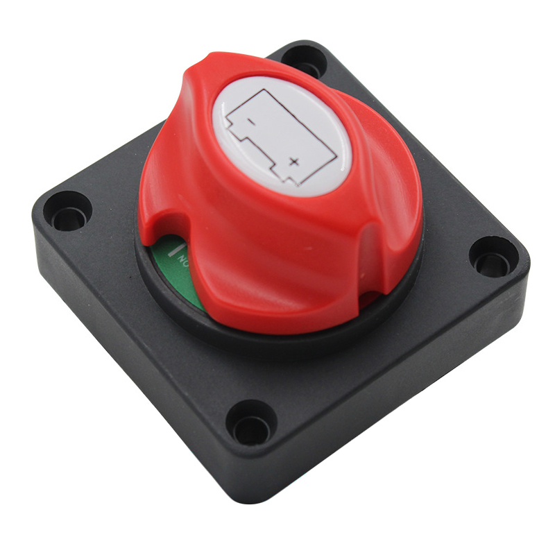 Battery Disconnect Switch Master Cut Shut Off Switch 12V 24V 48V for Marine Boat RV Waterproof Battery Isolator Switch