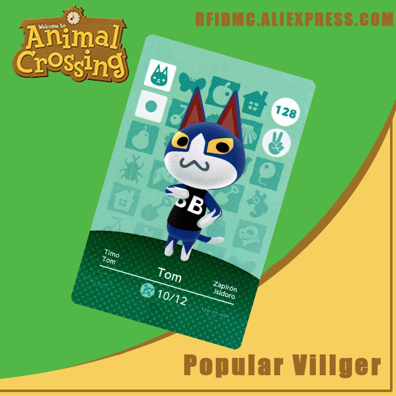 128 Tom Animal Crossing Card Amiibo For New Horizons
