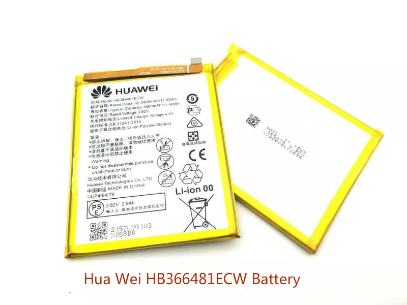 Hua Wei battery HB366481ECW original for wei honor 8 /honor lite 5C /Ascend P9 3000mah+ tools