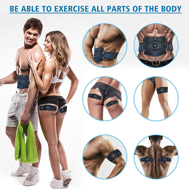 Heyfitae Abs Abdominal Muscle Stimulator 5
