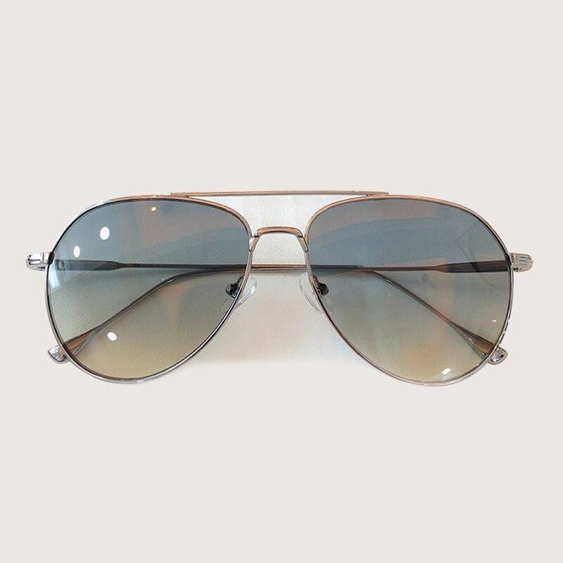 Retro Pilot Sonnenbrille Männer Frauen Mode Sonnenbrillen Kleidung Zubehör gafas de sol hombre - 2