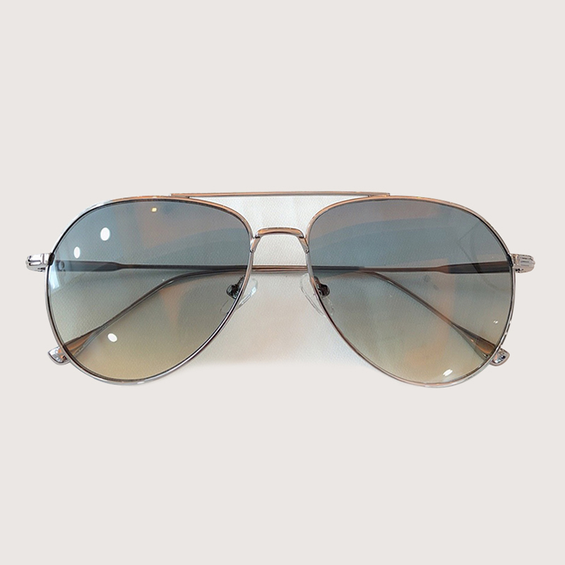 Retro Pilota Occhiali Da Sole Donne Degli Uomini di Modo Occhiali Da Sole Abbigliamento Accessori gafas de sol hombre - 2