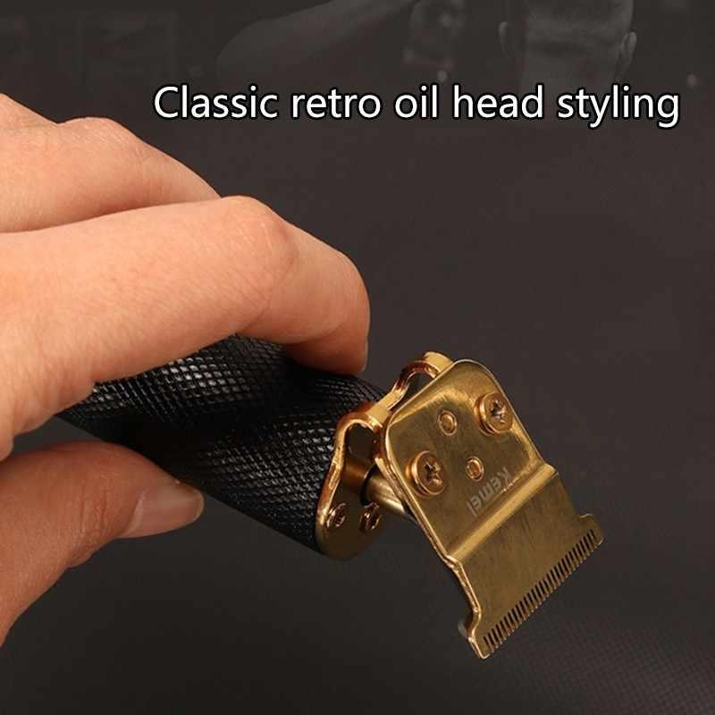 Professionelle männer haar trimmer bart elektrische haar clipper barber haar clippers männer bart trimmer wiederaufladbare Elektrische Frisur