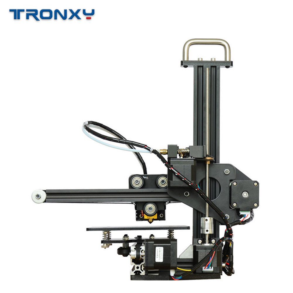 Tronxy 3D Printer X1 Pulley Linear Guide Support SD Card Printing LCD Display High Precision 0.1-0.4mm Off-line imprimante 3d 4