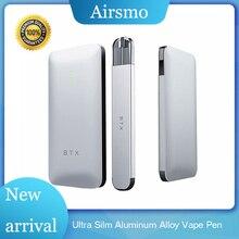 New Mini Vape Pen Aluminum Alloy 7mm Ultra Silm Electronic Cigatette Kit With 1ml Pod 720mah Power Bank Case Starter Kits