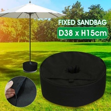 Umbrella Parasol-Base Patio Heavy-Duty Garden Beach Tent-Stand-Holder Base-Weight-Bag