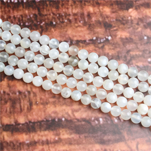 Bai Yueguang Natural Stone Beads Loose Stone Beads For Jewelry Making DIY Bracelets Necklace Accessories 4/ 6/8/10mm