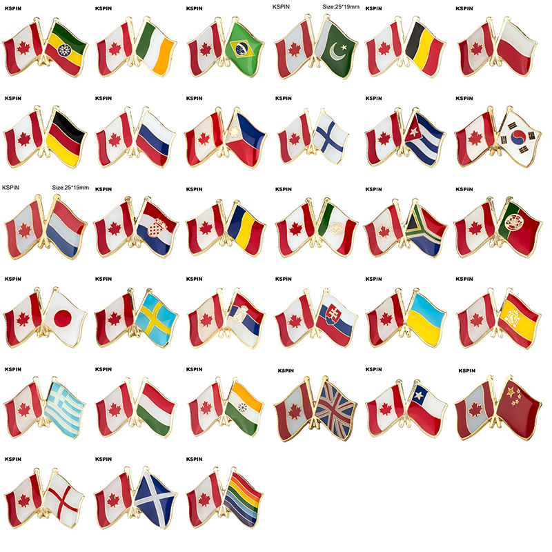 Брошь в форме флага, булавка в форме флага, брошь в форме флага, Германия