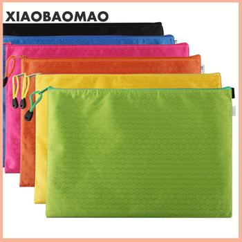 Na płótnie B8 A6 A5 B5 A4 B4 A3 torby na zamek błyskawiczny kolorowe woreczek na dokumenty torba na dokumenty Folder papiernicze artykuły szkolne słowa zgłoszenie produkcji tanie i dobre opinie XIAOBAOMAO CN (pochodzenie) Canvas XLG0022