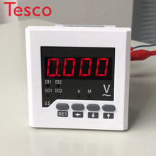 New Products Data Monitor LCD 3 Phase Digital Meter Ammeter Panel Meter Current meter стоимость