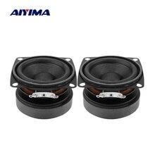 AIYIMA 2 قطعة 53 مللي متر الصوت سماعات محمولة مجموعة كاملة 4 أوم 15 واط مكبر الصوت لتقوم بها بنفسك الصوت مكبر صوت صغير للمسرح المنزلي