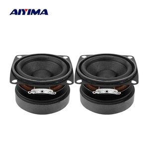Image 1 - AIYIMA 2 pièces 53mm Audio haut parleurs portables gamme complète 4 ohms 15 W haut parleur bricolage son Mini haut parleur pour Home cinéma