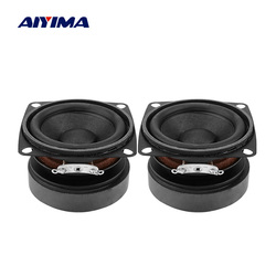 AIYIMA 2Pcs 53mm Audio Portable Speakers Full Range 4 Ohm 15 W Loudspeaker DIY Sound Mini Speaker For Home Theater