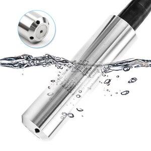 4-20мА 0-10 в RS485 индикатор уровня выхода индикатор погружной передатчик уровня жидкости масла воды бак датчик уровня с дисплеем