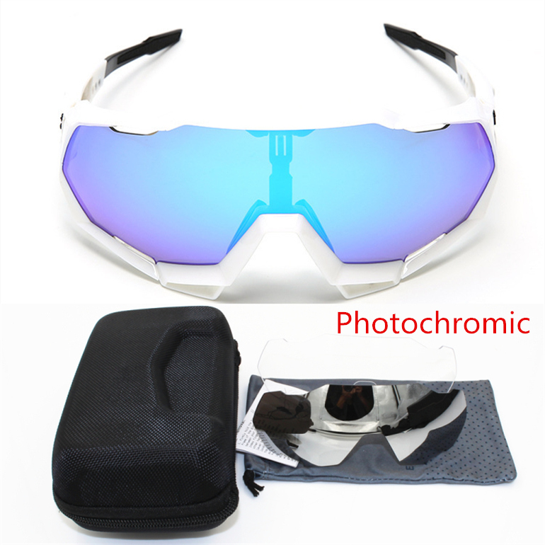 Bicycle Sunglasses Eyewear Clear-Lens Speedcraft Photochromic Sports Brand MTB Outdoor title=