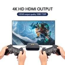 2021 melhor x caixa de tv consolas de jogos de vídeo suporte 4k saída hd retro jogador de jogo embutido psp/n64/ps 5000 + jogos para psp ps1 n64