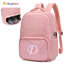 New Yoga Gym Backpack Women Men Fitness Waterproof Travel Bag With Shoes Pocket Fashion City Training Leisure Multifunction Bags(China)