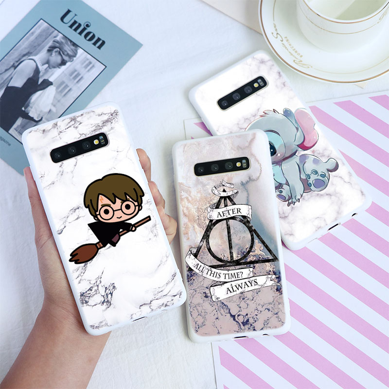 Marble Case For Samsung Galaxy Cover J5 J7 S11 S10 E Lite S9 S8 Plus J6 Prime S6 S7 Edge J8 J4 Plus 2018 2017 2016 Luxury Fundas image