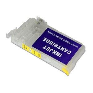 T802 T802XL перезаправляемый картридж без чипа для Epson рабочей силы WF-4720 WF-4730 WF-4734 WF-4740 EC-4020 EC-4030 EC-4040