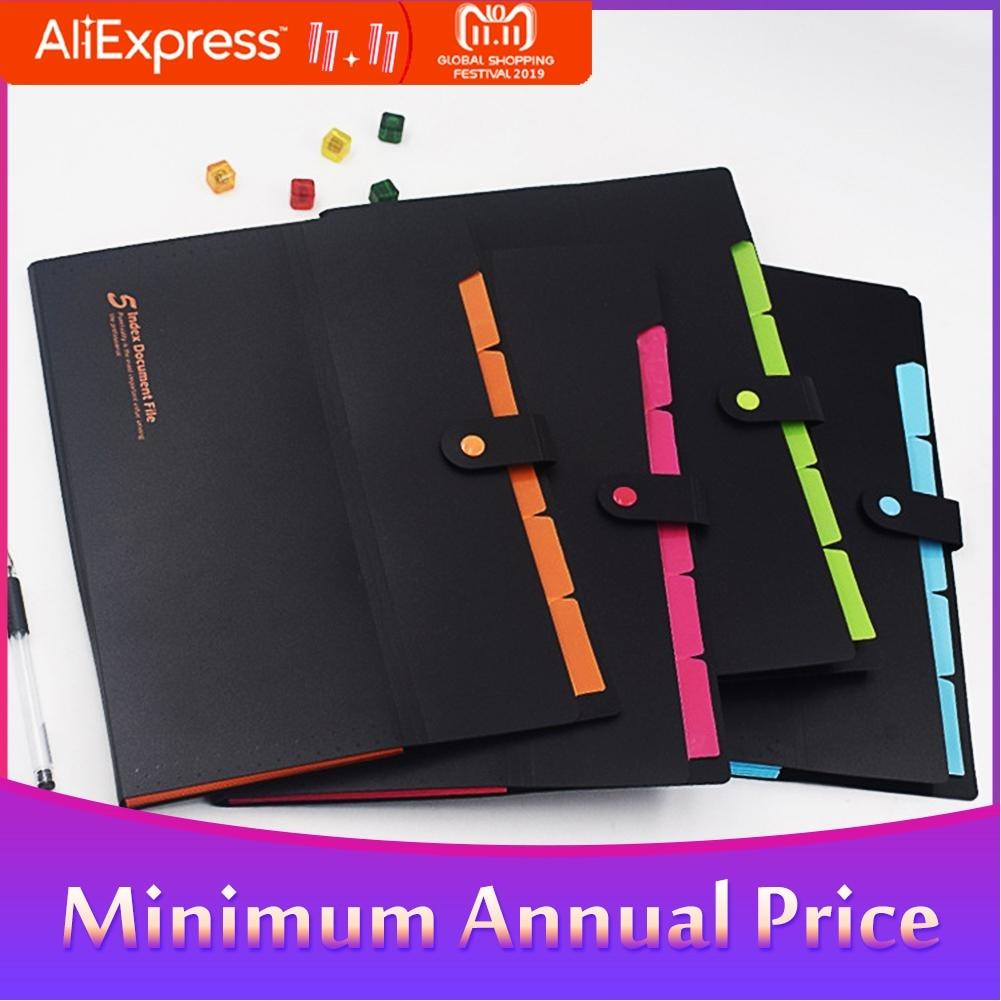 A4 File Folder Office Business Document Bag