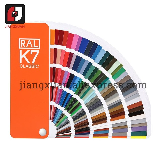 Original Germany RAL color card international standard Ral K7 color chart for paint 213 colors  with Gift Box
